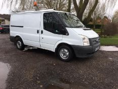 2012/62 REG FORD TRANSIT 100 T300 FWD 2.2 DIESEL PANEL VAN, SHOWING 0 FORMER KEEPERS *PLUS VAT*