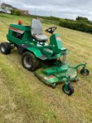 RANSOMES 728D RIDE ON LAWN MOWER, RUNS, WORKS, CUTS, 4 WHEEL DRIVE, 2019 HOURS *NO VAT*