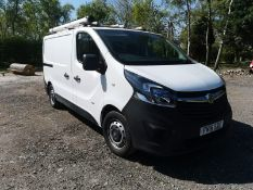 2016/16 REG VAUXHALL VIVARO 2900 BT CDTI ECOFLEX L1H1 P/V S/S, SHOWING 0 FORMER KEEPERS *PLUS VAT*