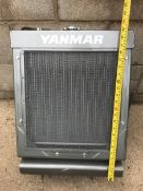 1x BRAND NEW YANMAR RADIATOR