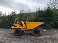 THWAITES 3 TON STRAIGHT SKIP DUMPER, YEAR 2007, LOW HOURS 1747, RUNS, WORKS, DOES WHAT IT SHOULD