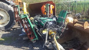 YEAR UNKNOWN RANSOMES TG3400 6K FIXED TRAILED GANG MOWER, 1750KG *PLUS VAT*