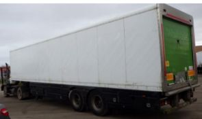2006 GRAY & ADAMS 13M TANDEM FRIDGE. FRIGOBLOCK UNIT, BPW DRUM BRAKES, SEPT 20 MOT *PLUS VAT*