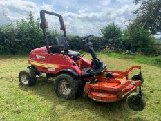 2013 SHIBAURA CM374 AUTO 4WD OUT FRONT ROTARY MOWER, RUNS, WORKS AND CUTS *PLUS VAT*