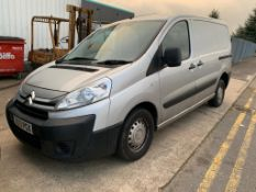 2013/13 REG CITROEN DISPATCH 1000 L1H1 ENTERPRISE 1.6 DIESEL PANEL VAN, AIR CON NO VAT ON VAN
