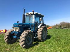 FORD 6610 4 WHEEL DRIVE TRACTOR, RUNS AND WORKS, 3 POINT LINKAGE, REAR PTO, ROAD REGISTERED WITH V5