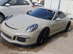 2016 PORSCHE 911 GT3 2DR AUTOMATIC LHD, FULL HISTORY, 1 PREVIOUS OWNER, SHOWING 26,000 KM *NO VAT*