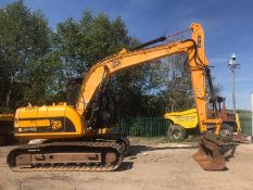 2010 JCB JS145LC STEEL TRACKED CRAWLER EXCAVATOR / DIGGER, RUNS, DRIVES AND DIGS *PLUS VAT*