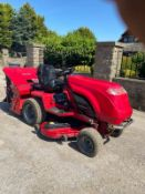 COUNTAX K18-50 RIDE ON LAWN MOWER, RUNS, WORKS AND CUTS, 50 INCH CUTTING DECK *NO VAT*