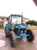 FORD NEW HOLLAND 4630 BLUE TRACTOR, 4 WHEEL DRIVE, RUNS, WORKS AND DRIVES *PLUS VAT*