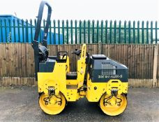 BOMAG BW80 ADH-2 RIDE ON TWIN DRUM TANDEM ROLLER, YEAR 2008, 1988 HOURS, FOLDING ROPS *PLUS VAT*