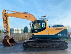 HYUNDAI ROBEX 210 LC-9 STEEL TRACKED CRAWLER DIGGER / EXCAVATOR, YEAR 2013, AIR CON *PLUS VAT*