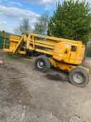 GENIE Z45 ARTICULATED BOOM LIFT, 4 WHEEL DRIVE, RUNS, WORKS AND LIFTS, SHOWING 2657 HOURS *PLUS VAT*