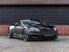 2010/10 REG ASTON MARTIN DBS VOLANTE V12 6.0L BLACK CONVERTIBLE - ONCE OWNED BY STEVEN GERRARD