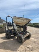 2008 BENFORD TEREX 2 TON HI-TIP SWIVEL DUMPER, RUNS AND WORKS *PLUS VAT*