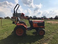 KUBOTA B2110 COMPACT TRACTOR, RUNS AND DRIVES, DOES WHAT IT SHOULD *PLUS VAT*