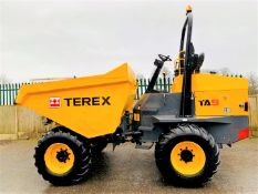 TEREX TA9 9 TONNE DUMPER, YEAR 2017, 616 HOURS, GOOD TYRES, ROAD LIGHTS *PLUS VAT*