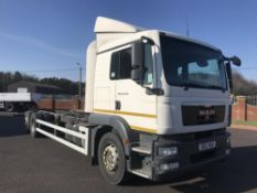 2012/12 REG MAN TG-M 26.290 6X2-4 BL L 26 TON CHASSIS CAB SLEEPER REAR STEER *PLUS VAT*