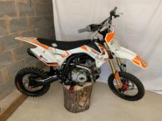 SLAM MXR 140 MOTORCYCLE / MOTORBIKE, STARTS AND DRIVES *NO VAT*