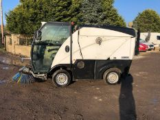 JOHNSTON ROAD SWEEPER, YEAR 2015, LOW MILES, RUNS, DRIVES AND SWEEPS *PLUS VAT*