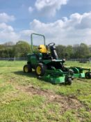 JOHN DEERE 1545 RIDE ON LAWN MOWER, YEAR 2008, RUNS, WORKS AND CUTS *PLUS VAT*