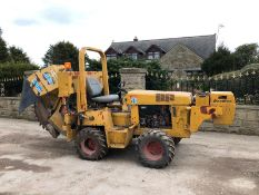 DITCH WITCH 3500 ROCK TRENCHER, 4 WHEEL DRIVE, RUNS, WORKS AND DIGS *PLUS VAT*