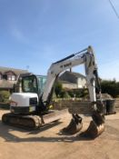 2012 BOBCAT E60 6 TON TRACKED CRAWLER EXCAVATOR, IN GOOD CONDITION, RUNS, WORKS AND DIGS *PLUS VAT*