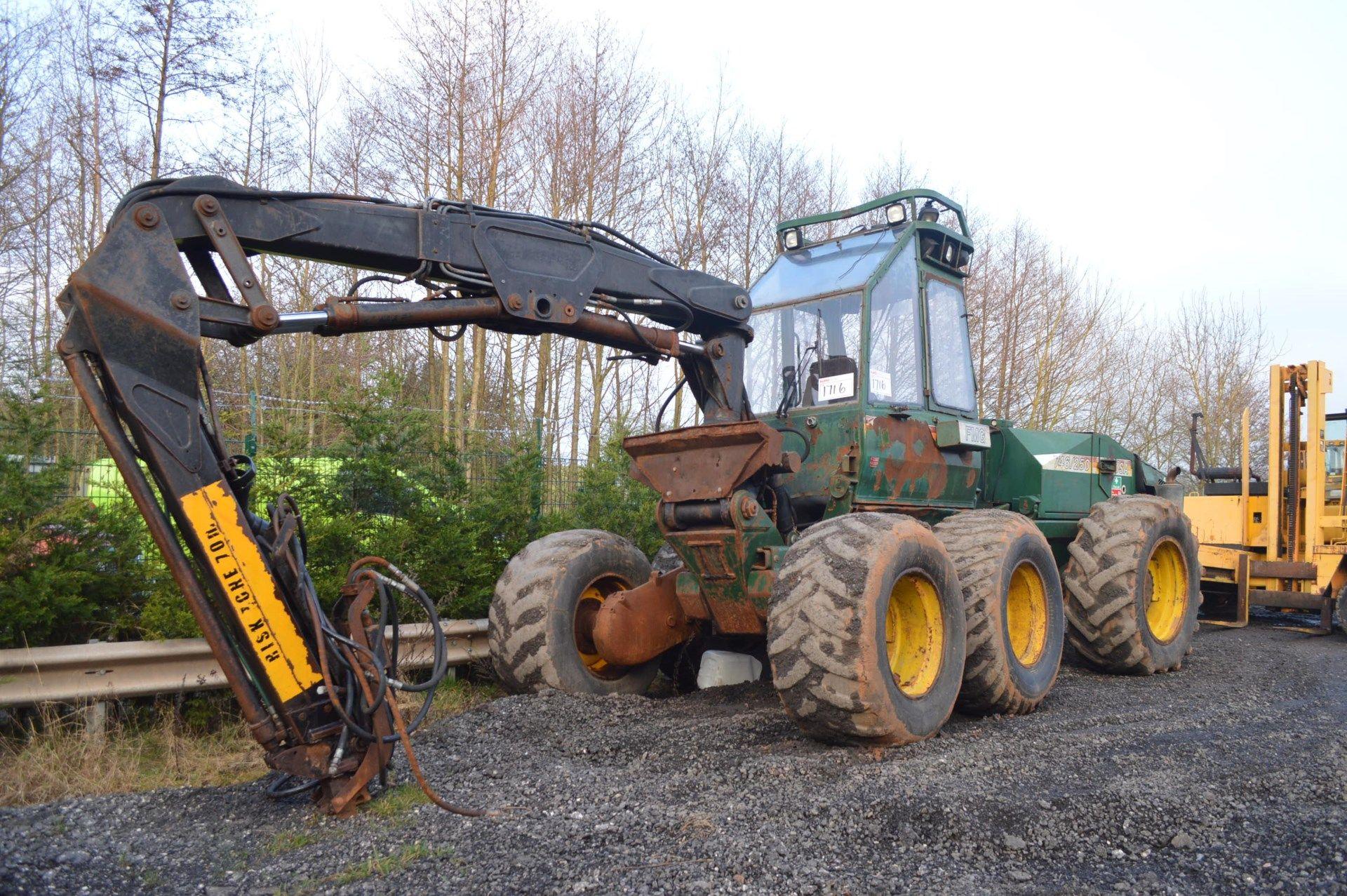 Lot 63 - FMG 746/250 SUPER EVA TURBO, 136HP TREE HARVESTER *PLUS VAT*
