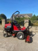 2012 TORO LT3240 RIDE ON LAWN MOWER, LOW HOURS - ONLY 1700, 4 WHEEL DRIVE, IN GOOD CONDITION