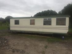 30 x 12 TWO BED STATIC CARAVAN HAS BEEN REFRESHED INSIDE FROM STANDARD INSTALL *NO VAT*