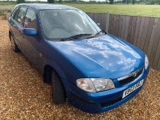 1999 MAZDA 323 GXI 1.5 PETROL 90 HP HATCHBACK, 1 OWNER FROM NEW, LAST SERVICE 38 MILES AGO *NO VAT*