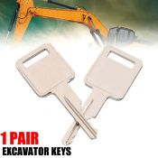 ONE PAIR NEW BOBCAT/ CASE KEYS