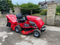 COUNTAX C25, 4 WHEEL DRIVE, RIDE ON LAWN MOWER, VERY LOW HOURS ONLY 52 FROM NEW *NO VAT*