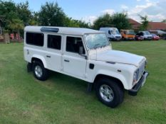 2008/58 REG LAND ROVER 110 LWB DEFENDER COUNTY STATION WAGON 2.4 DIESEL 120BHP OWNED BY BT OPENREACH