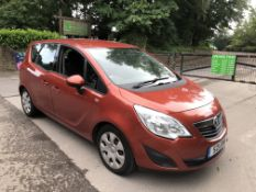 2011 VAUXHALL MERIVA EXCLUSIVE CDTI AUTO 1.7 DIESEL, SHOWING 2 FORMER KEEPERS *NO VAT*