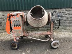 2008 BELLE PM20 PREMIER 100XT ELECTRIC START HEAVY DUTY SITE MIXER *PLUS VAT*