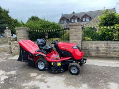 EX DEMO COUNTAX B250 4 TRAC RIDE ON LAWN MOWER, 4 WHEEL DRIVE, STILL LIKE NEW *NO VAT*