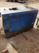 3-CYLINDER DIESEL GENERATOR WELDER 110V SOCKETS, 300 AMP WELDER FULL WORKING ORDER *PLUS VAT*
