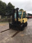 HYSTER H80 FORTIS TWIN WHEELED DIESEL FORKLIFT, RUNS, DRIVES AND LIFTS, SIDE SHIFT *PLUS VAT*