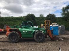 2002 MANITOU MT 1637 SL TELEHANDLER, RUNS, DRIVES AND LIFTS, 16M BOOM REACH, SUPPORT ARMS *PLUS VAT*