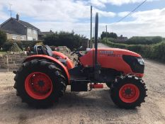KUBOTA M8540 NARROW TRACTOR APPROX 85 HORSEPOWER RUNS AND DRIVES, 3822 HOURS *PLUS VAT*