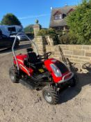 AGS CROSS JET 4-WHEEL-DRIVE BANK MOWER, 23HP ENGINE BRIGGS AND STRATTON ENGINE, RUNS, WORKS, CUTS