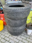 4 X MATCHING CONTINENTAL TYRES 265/60 R18 OFF 2019 FORD RANGER 6MM TREAD - SEE PHOTOS *PLUS VAT*