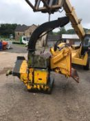 "SCHLIESING 330ZX PTO WOOD CHIPPER, 8"" CHIPPING CAPACITY, GOOD WORKING ORDER *NO VAT*"