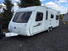 SWIFT CHALLENGER 625 TWIN AXLE 6 BERTH CARAVAN, YEAR 2009, CRIS DOCUMENT PRESENT *NO VAT*