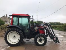 2017/67 REG VALTRA A73 TRACTOR WITH LOADER, RUNS, DRIVES AND LIFTS, SHOWING 550 HOURS *PLUS VAT*