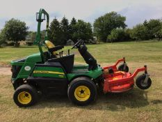 2016 JOHN DEERE 1580 C/W OUTFRONT MOWER DECK, RUNS, DRIVES & CUTS, ROAD REGISTERED - OTS *PLUS VAT*