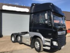 2014/64 REG DAF TRUCKS CF 85.460 FTG 6X2 TRACTOR UNIT, AIR CON, LANE ASSIST, GOOD CONDITION