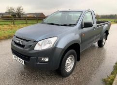 2015/15 REG ISUZU D-MAX S/C TWIN TURBO 4X4 TD 2.5 DIESEL PICK-UP, SHOWING 0 FORMER KEEPERS *NO VAT*