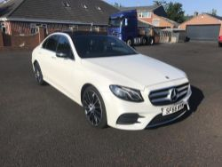 66 REG MERCEDES E 350D AMG LINE PREMIUM, 2014 RANGE ROVER EVOQUE, VAUXHALL CORSA, ASTRA, MOWERS, FORKLIFTS, BACKHOE, ENDS FROM 7PM THURSDAY!